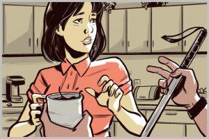 colleghi in pausa caffè