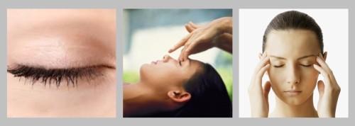 massaggio occhi